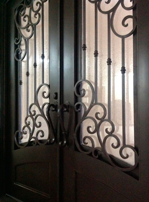 WROUGHT IRON DOORS & Dominion Iron Doors | We specialize in creating the most beatiful ...