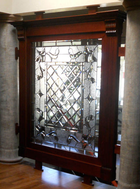 CUSTOM STAINED GLASS & Dominion Iron Doors | We specialize in creating the most beatiful ...
